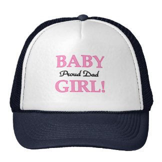 Proud Dad of Baby Girl Tshirts and Gifts Cap