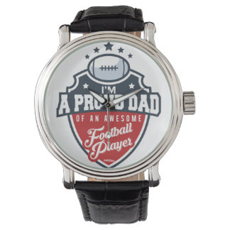 Proud Dad of Football Player Watch