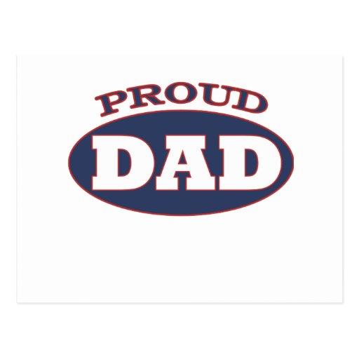 proud dad postcards