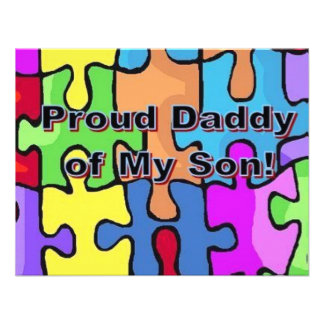 Proud Daddy of My Son Announcements