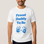 Proud Daddy to be Tee Shirts