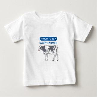 Proud Dairy Farmer Baby T-Shirt