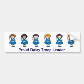 Proud Daisy Troop Leader Bumper Sticker