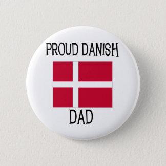Proud Danish Dad 6 Cm Round Badge
