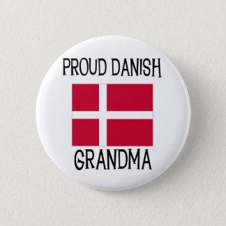 Proud Danish Grandma 6 Cm Round Badge