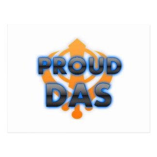 Proud Das, Das pride Postcard