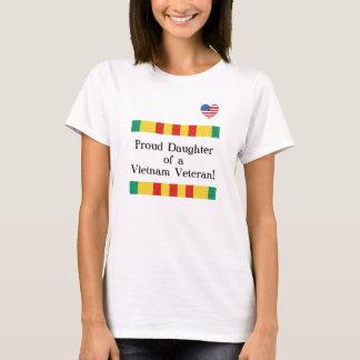 Proud Daughter Vietnam Veteran T-Shirt
