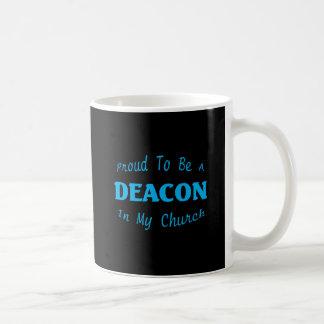 PROUD DEACON CHURCH DK COFFEE MUG