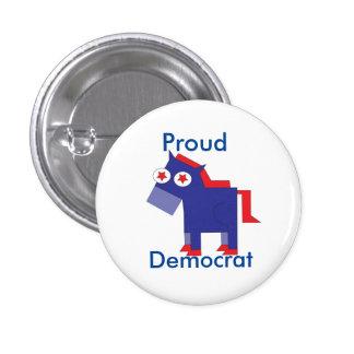Proud Democrat Button