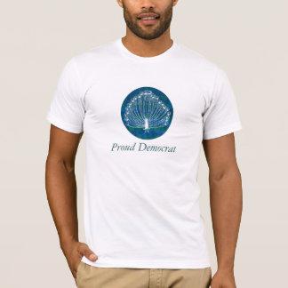 Proud Democrat Peacock Shirt
