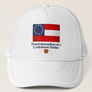 The Confederate Flag Baseball   Trucker Hats  0156d68161e