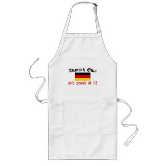 Proud Deutsch Oma Long Apron