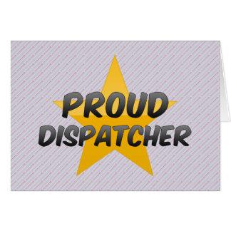 Proud Dispatcher Greeting Card