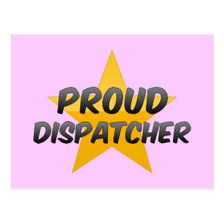 Proud Dispatcher Post Card