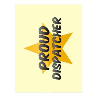 Proud Dispatcher Postcard
