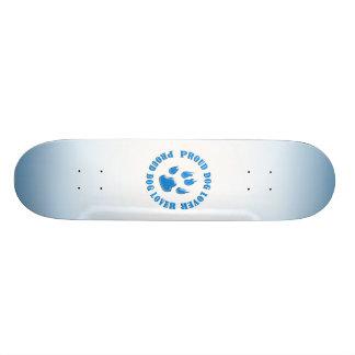 Proud Dog Lover 20 Cm Skateboard Deck