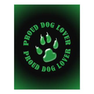 Proud Dog Lover 21.5 Cm X 28 Cm Flyer