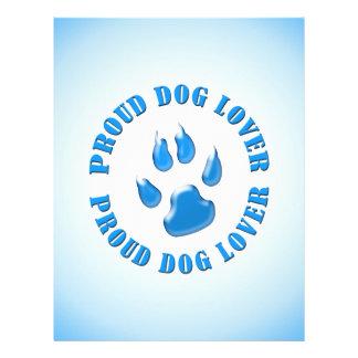Proud Dog Lover Flyer Design