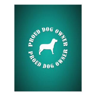 Proud Dog Owner 21.5 Cm X 28 Cm Flyer