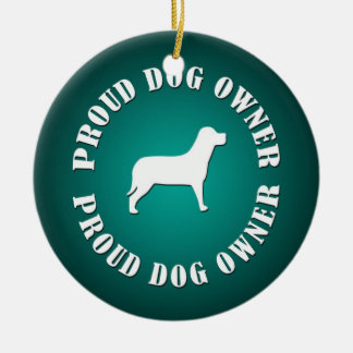 Proud Dog Owner Ornaments