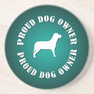 Proud Dog Owner Drink Coasters
