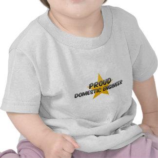 Proud Domestic Engineer Shirts