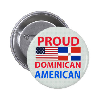 Proud Dominican American Buttons