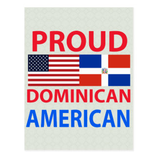 Proud Dominican American Post Cards