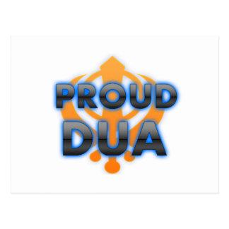 Proud Dua, Dua pride Postcard
