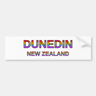 Proud Dunedin, New Zealand Bumper Sticker