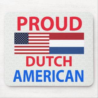 Proud Dutch American Mouse Pad