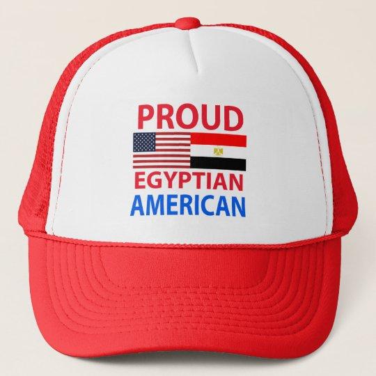 Proud Egyptian American Cap