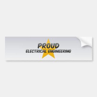 Proud Electrical Engineering Bumper Sticker