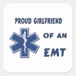 Proud EMT Girlfriend Stickers