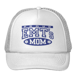 Proud EMT's Mom Cap