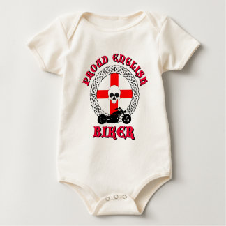 Proud English Biker Baby Bodysuit