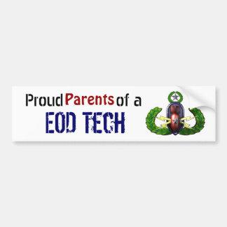 Proud, EOD Tech, Parents Bumper Sticker