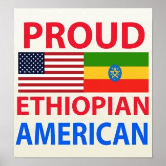 Proud Ethiopian American Print