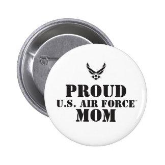 Proud Family – Black Logo & Star 6 Cm Round Badge