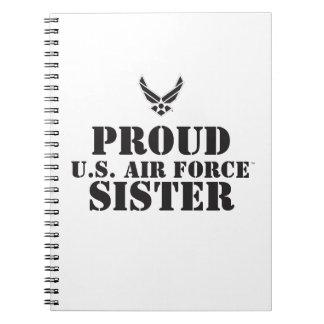 Proud Family – Black Logo & Star Note Books