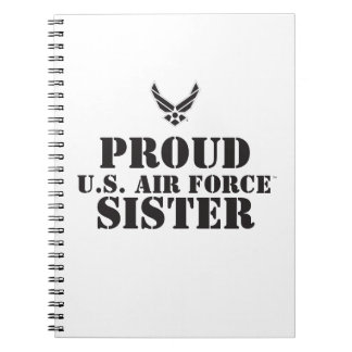 Proud Family – Black Logo & Star Notebooks