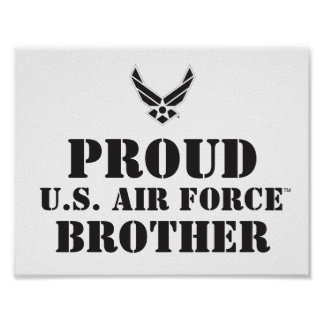 Proud Family – Black Logo & Star Poster