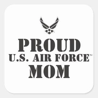 Proud Family – Black Logo & Star Square Sticker