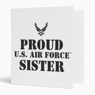 Proud Family – Black Logo & Star Vinyl Binder
