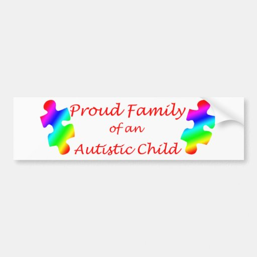 Proud Family Bumper Sticker