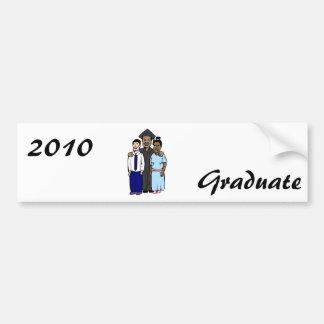 Proud Family Graduates Car Bumper Sticker