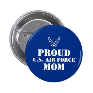 Proud Family - Logo & Star on Blue 6 Cm Round Badge