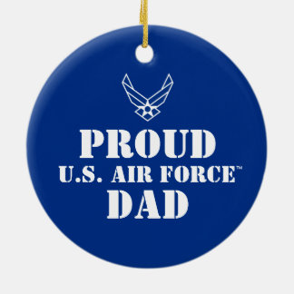 Proud Family - Logo & Star on Blue Christmas Ornament