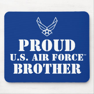 Proud Family - Logo & Star on Blue Mouse Pad