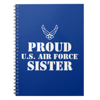 Proud Family - Logo & Star on Blue Notebook